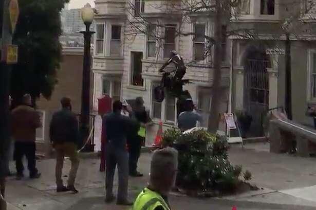 Venom filming in SF