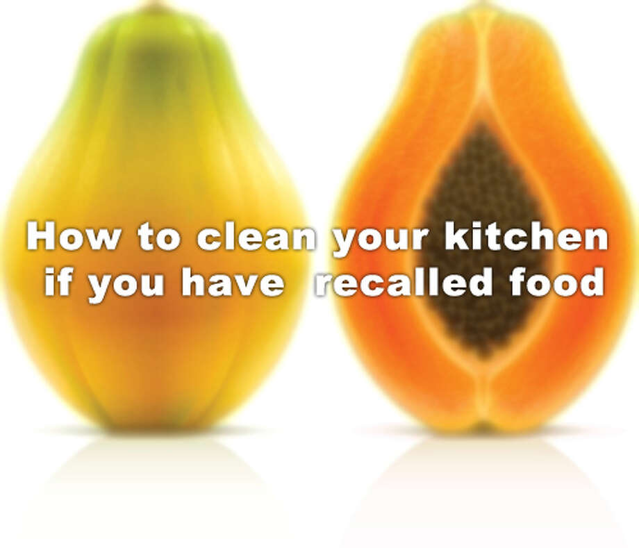 Click through the slideshow for how to clean your refrigerator if you have recalled food, according to the Centers for Disease Control and Prevention. / Evgeniy Ivanov