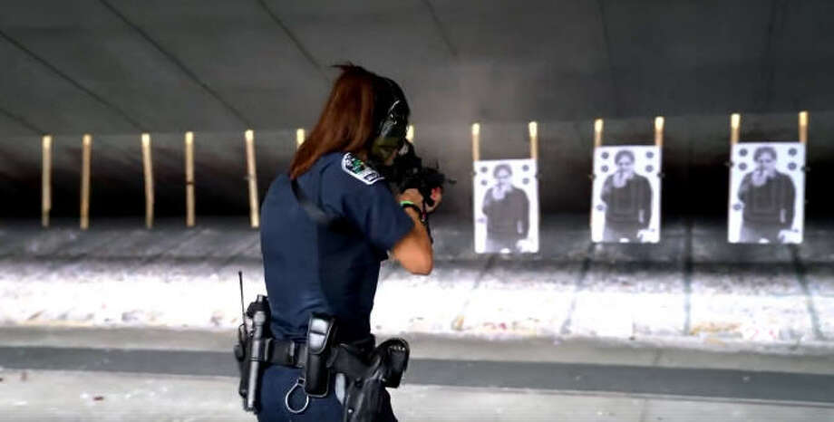 """""""Showing the real female officer is what we aimed to do by producing the 2018 Warrior Women of APD Calendar. It was an effort to show the public a version of us, the police, from the viewpoint of officers instead of through the eyes of Hollywood or the perspective of a viral video,"""" said Officer Susana Sanchez in a statement this week. Photo: Austin Police Association"""