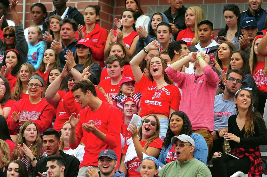 Season opener of football action between Sacred Heart University and Stetson in Fairfield, Conn. on Saturday Sept. 2, 2017. Photo: Christian Abraham / Hearst Connecticut Media / Connecticut Post