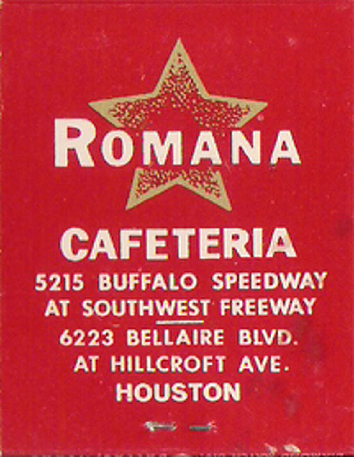 Luby's entered Houston for the first time when it opened Romana Cafeteria in 1965.