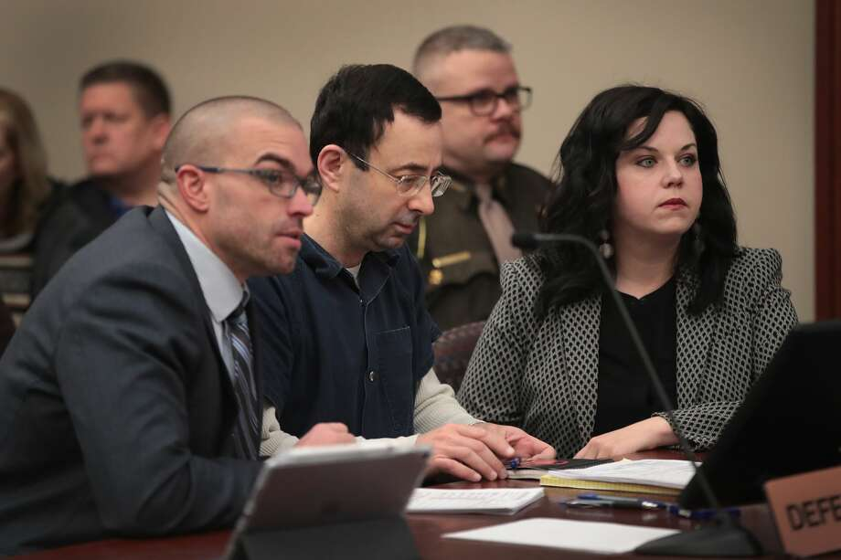 "Dr. Larry Nassar, the former national team doctor for USA Gymnastics accused of sexually assaulting at least 50 women, was derided in court after penning a letter to the judge stating how listening to victims statements was ""detrimental to his mental health."" Photo: Scott Olson/Getty Images"