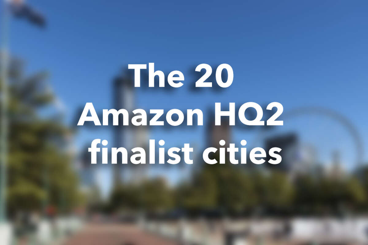 The 20 Amazon HQ2 finalist cities