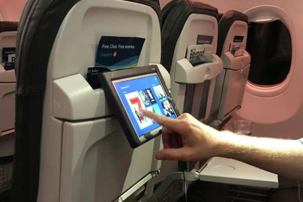 Watching live TV inflight is a mixed bag - SFChronicle com
