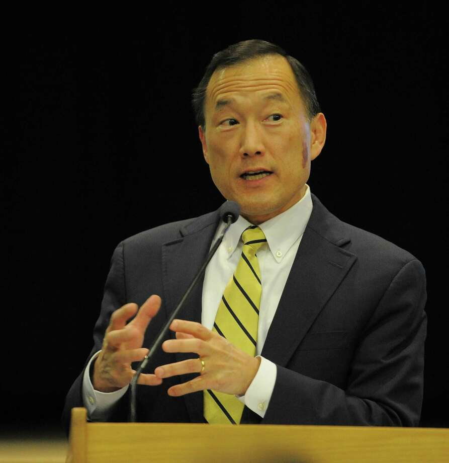 Stamford School Superintendent Earl Kim said he's confident in the district's proposed 2018-19 budget. Photo: Matthew Brown / Hearst Connecticut Media / Stamford Advocate