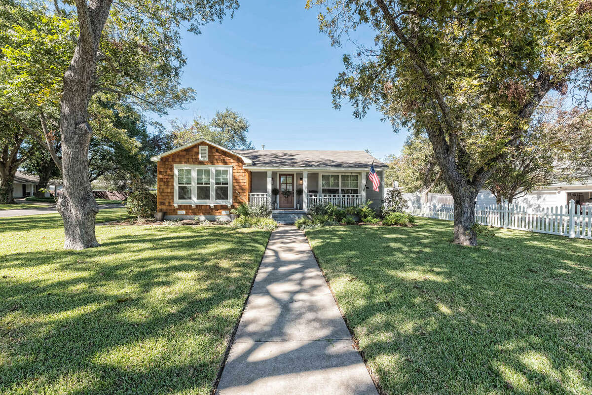 The home at 3829 Herwol Ave. in Waco was featured on HGTV's