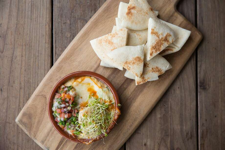 Spicy hummus at The Board in SoMa. Photo: Photos Via The Board