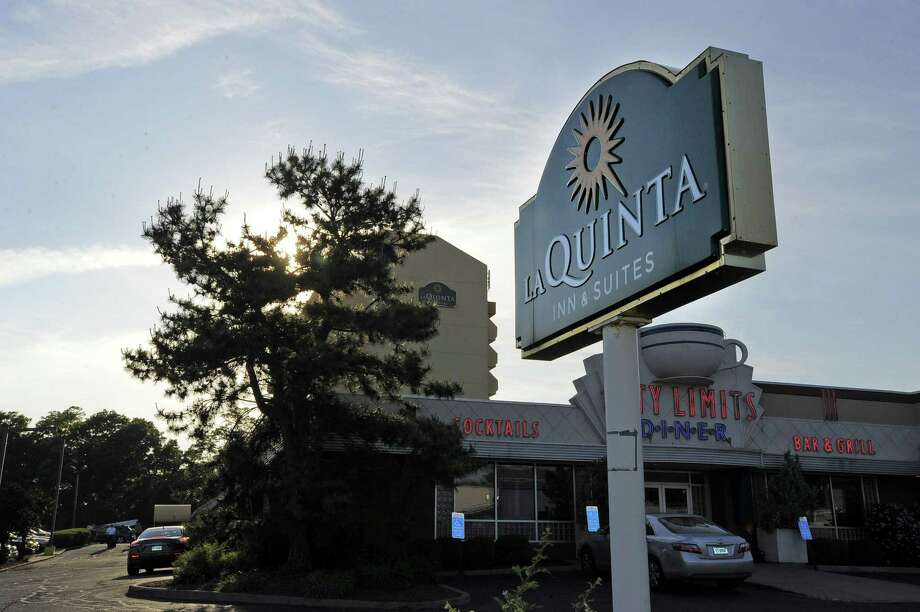 The La Quinta Inn & Suites in Stamford, Conn. Photo: Matthew Brown / Hearst Connecticut Media / Stamford Advocate