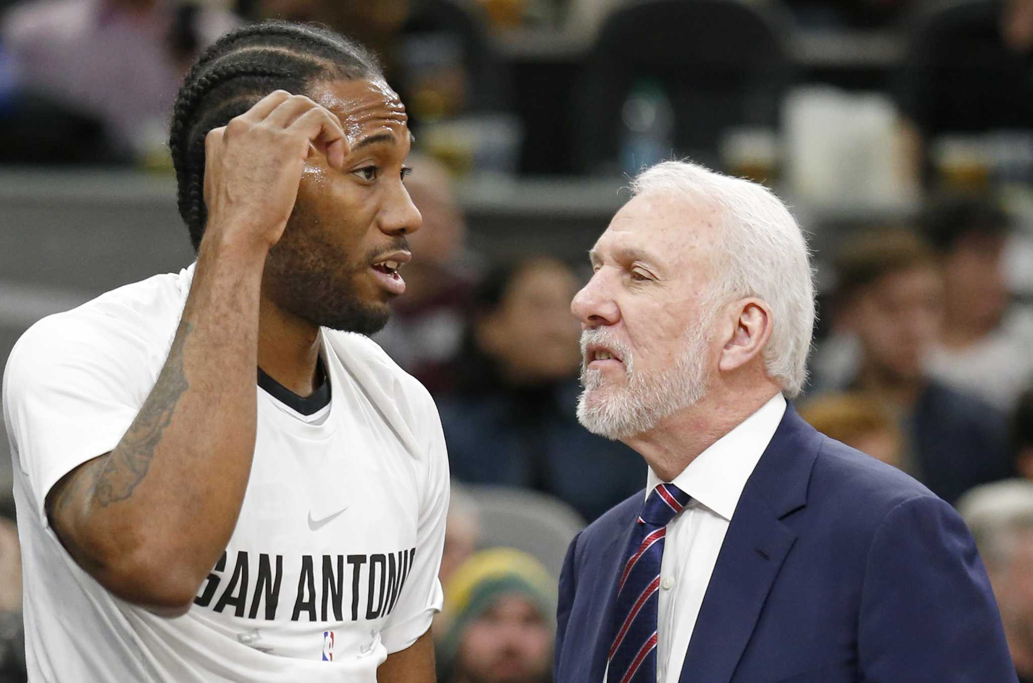Kawhi and the Spurs  How it all fell apart - ExpressNews.com 87119f821b59
