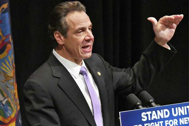 Gov. Andrew M. Cuomo on Tuesday, Jan. 16, 2018 in Albany, N.Y.