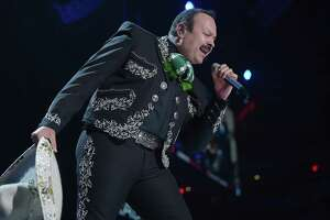 MIAMI, FL - NOVEMBER 04:  Pepe Aguilar performs onstage during the iHeartRadio Fiesta Latina: Celebrating Our Heroes at American Airlines Arena on November 4, 2017 in Miami, Florida.