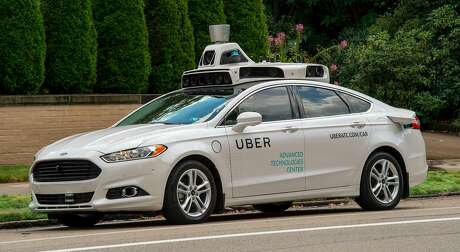 An Uber self-driving car. (Uber)