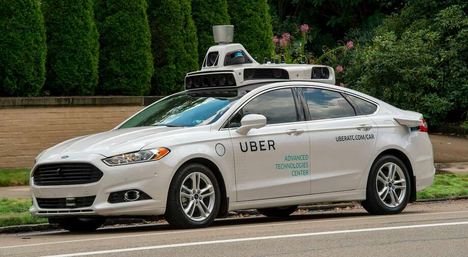 An Uber self-driving car. (Uber) Photo: Uber