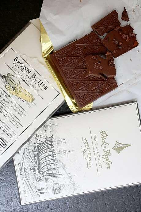 Dick Taylor chocolates Photo: Liz Hafalia, The Chronicle
