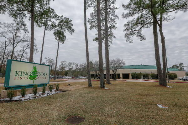 Exterior photograph of Kingwood Pines Hospital, 2001 Ladbrook Drive, Thursday, Jan. 18, 2018, in Kingwood.
