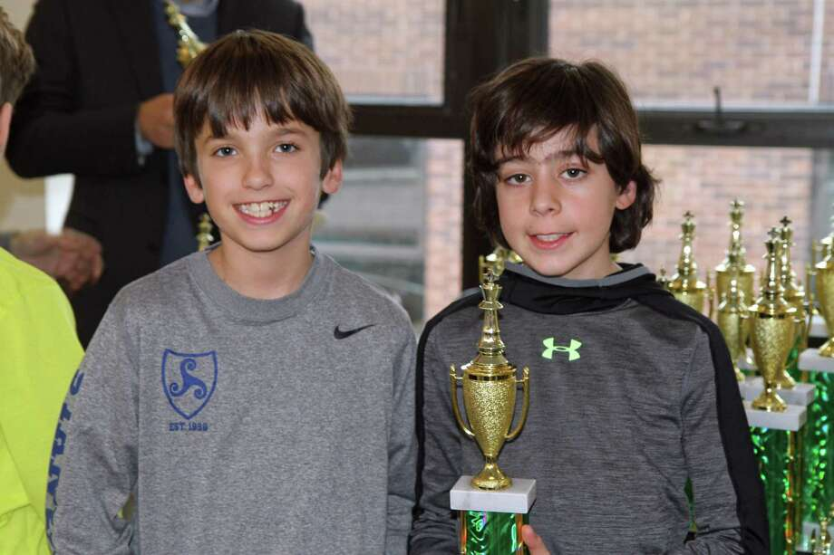 Stanwich School took the team prize for 4th grade at last year's Greenwich City Scholastic Chess Championship with just a two-member team of Jackson Gerardi and Harrison Servedio. The 2018 competition will be held Sunday, January 21, once again hosted by Greenwich Academy. Photo: Contributed