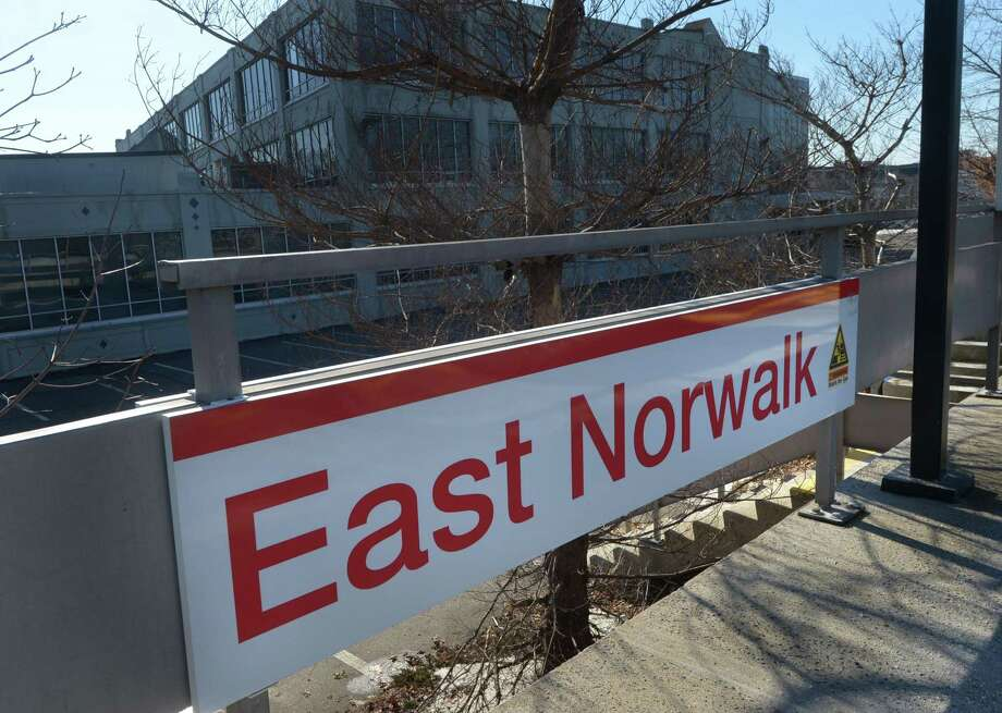 The East Norwalk Train Station Northbound Platform Thursday January 18 2018 In