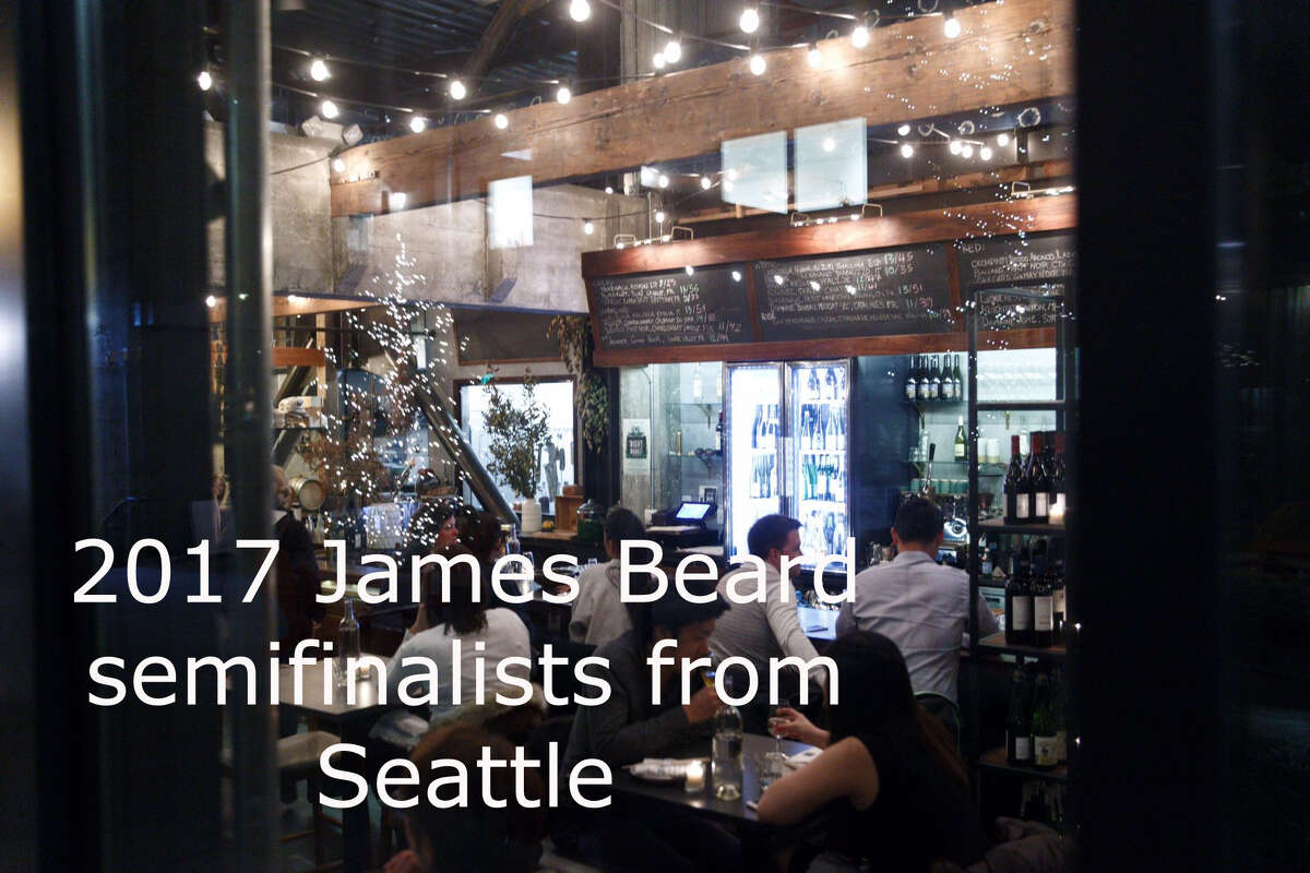 Click through the slideshow to see the Seattle semifinalists in the chef and restaurant categories from 2017's James Beard awards.