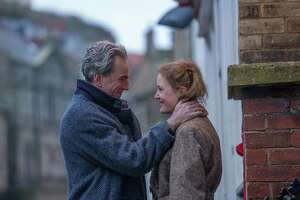 "Daniel Day-Lewis and Vicky Krieps in ""Phantom Thread"" credit: Focus Features"