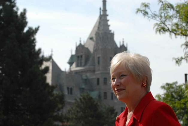 SUNY Chancellor Nancy Zimpher journeyed from Albany to Buffalo and beyond as she visited all 64 campuses of the state university system during her 95-day tour. (Michael P. Farrell / Times Union ) Photo: MICHAEL P. FARRELL / 00005360A