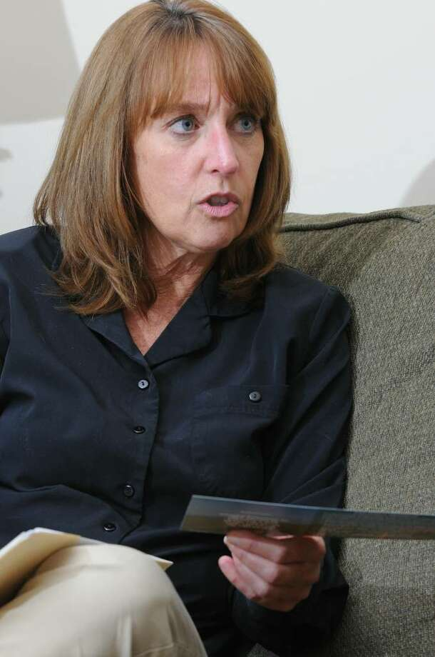 "Diane Jones of Guilderland bought an Automotive Professionals Inc. service contract when she purchased her Subaru at Capitaland Motors in 2004 because it included a ""guaranteed price refund"" if she did not file a claim in five years. API now is in bankruptcy and Jones is having difficulty collecting the $1,295 she was promised when she bought the contract at the Glenville dealership. Photo: LORI VAN BUREN"