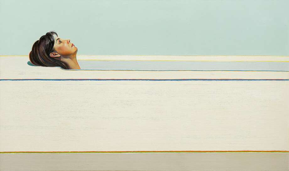 "Wayne Thiebaud, ""Woman in Tub"" (1965). Photo: © Wayne Thiebaud / Licensed By VAGA, New York"