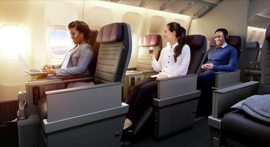 First look at United's new Premium Plus seat, which  which it will add to long-haul international flights Photo: United Airlines