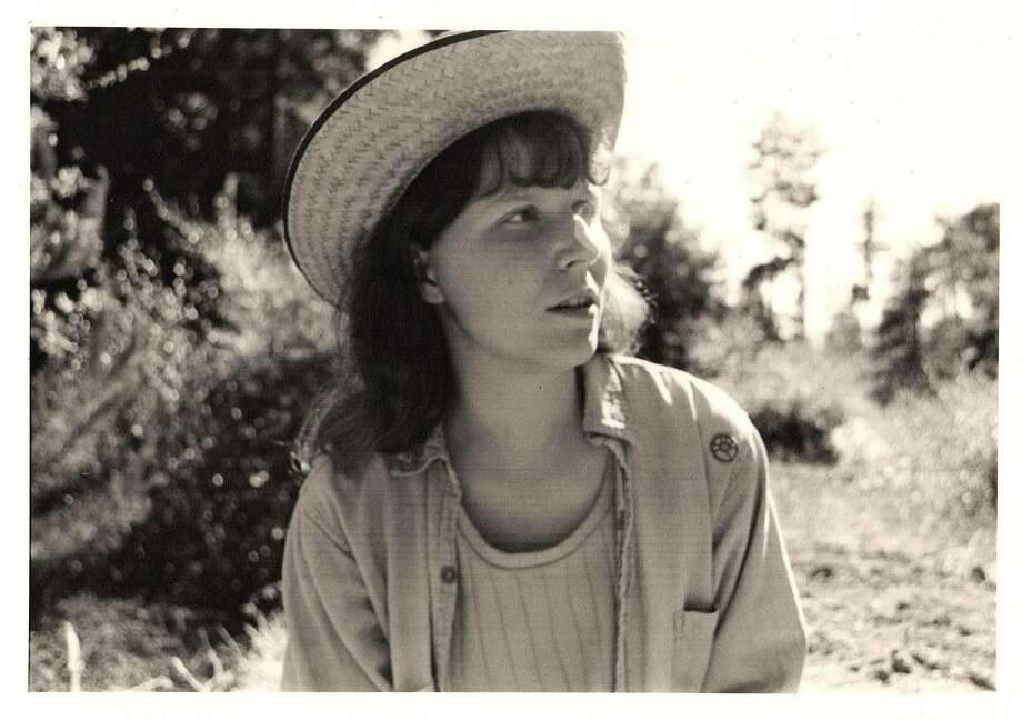 Pam Peirce as a young food worker. Photo: Archive