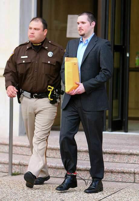 """Thomas """"Bart"""" Whitaker was convicted in the 2003 murder-for-hire slayings of his mother and younger brother. (Houston Chronicle file) Photo: Bob Levey, Freelance / Freelance"""