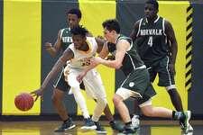 Trinity defeated Norwalk 77-62 in a FCIAC boys basketball game at Trinity High School in Stamford, Conn. on Thursday, Jan. 18, 2018.