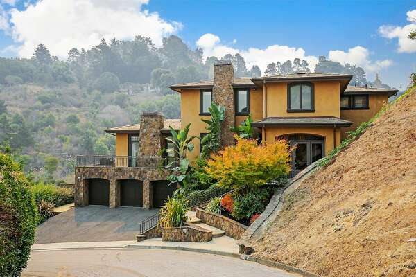 7 Hillcrest Road in Tiburon is a six-bedroom, five-bathroom with more than 5,300 square feet of living space.