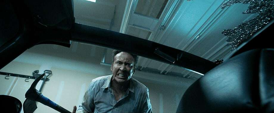 """Nicolas Cage returns to his patented maniac mode as a filicidal father in """"Mom and Dad."""" Photo: Momentum Pictures"""