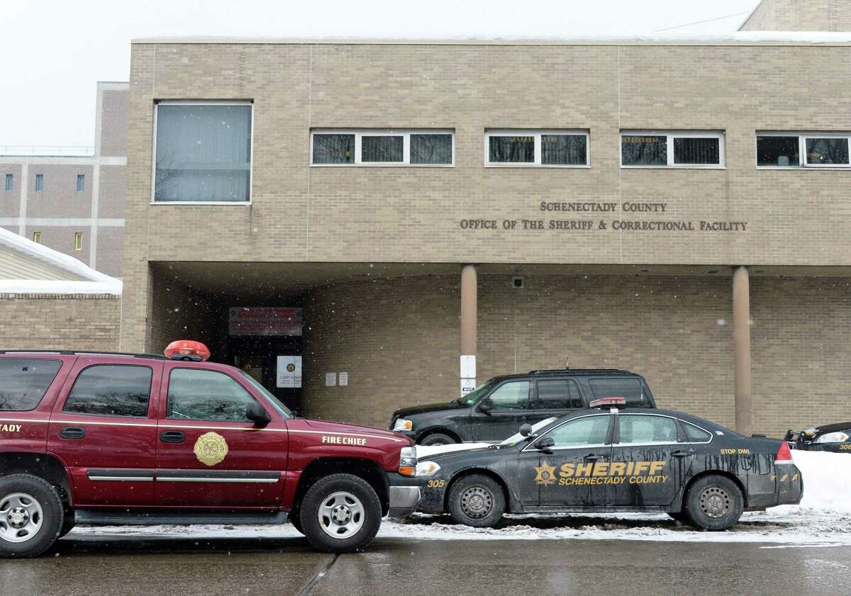 The Schenectady County jail. (John Carl D'Annibale / Times Union)