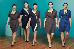 Alaska Airlines unveiled new uniforms designed by Seattle's Luly Yang on Thursday, Jan. 18, 2018.