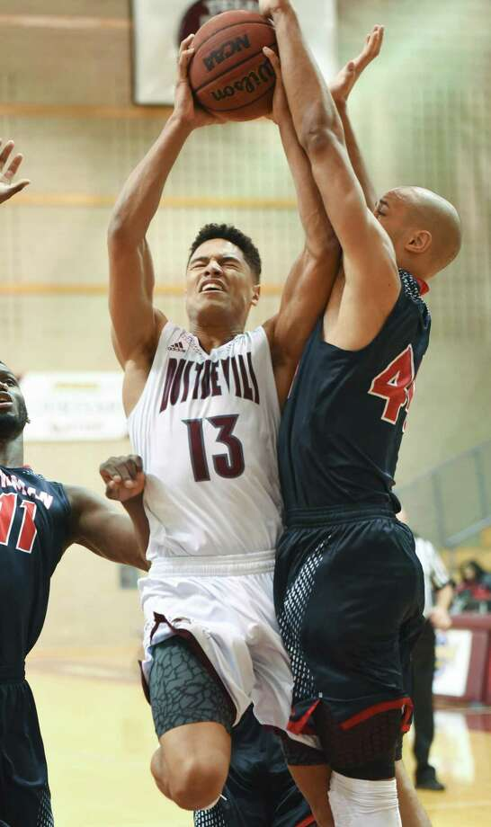 Xabier Gomez had 14 points Thursday but the Dustdevils were throttled 95-53 at Arkansas-Fort Smith, their second-largest loss in program history. Photo: Danny Zaragoza /Laredo Morning Times File