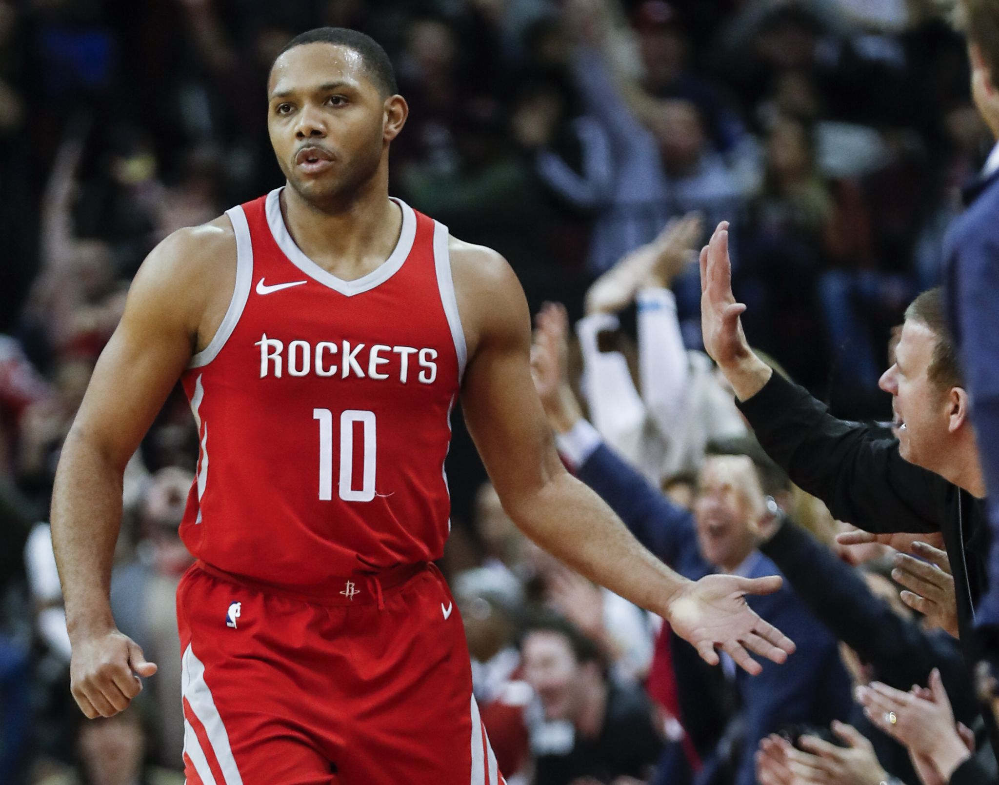 Rockets Guard Eric Gordon On Returning To New Orleans Just