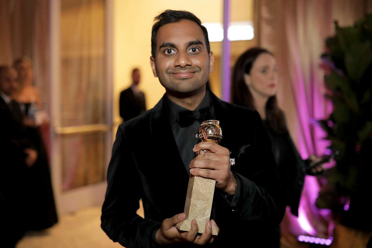 BEVERLY HILLS, CA - JANUARY 07: Aziz Ansari attends the Official Viewing and After Party of The Golden Globe Awards bosted by The Hollywood Foreign Press Association on January 7, 2018 in Beverly Hills, California. (Photo by Greg Doherty/Getty Images)