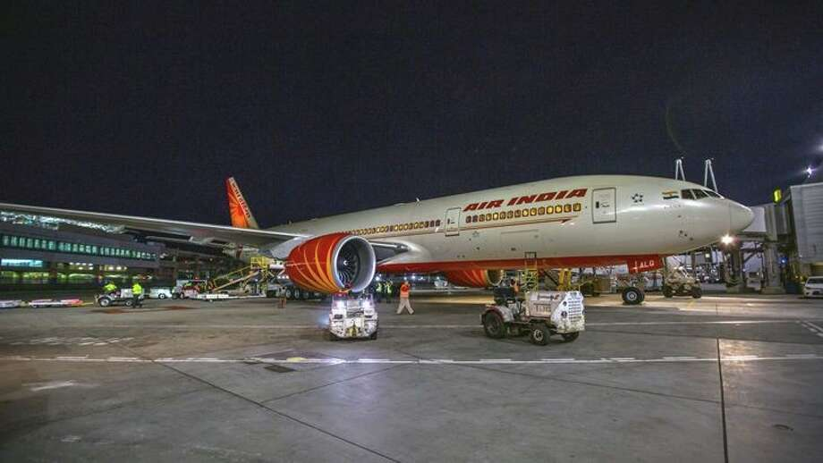 Air India uses a Boeing 777 between SFO and Delhi Photo: Peter Biaggi