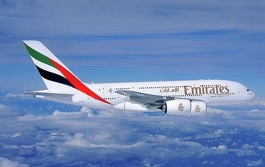 Emirates Airline flies an Airbus A380 between SFO and Dubai Photo: Emirates Airline