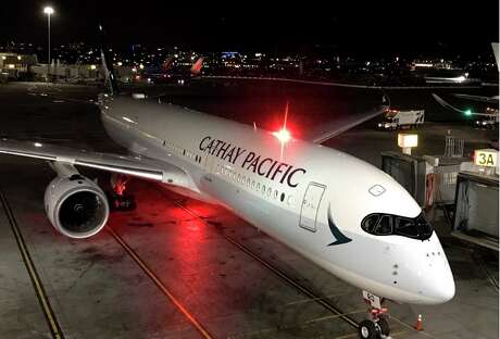 Cathay Pacific has cut nearly all its flights, including San Francisco-Hong Kong, which it used to fly three times a day. Photo: Chris McGinnis