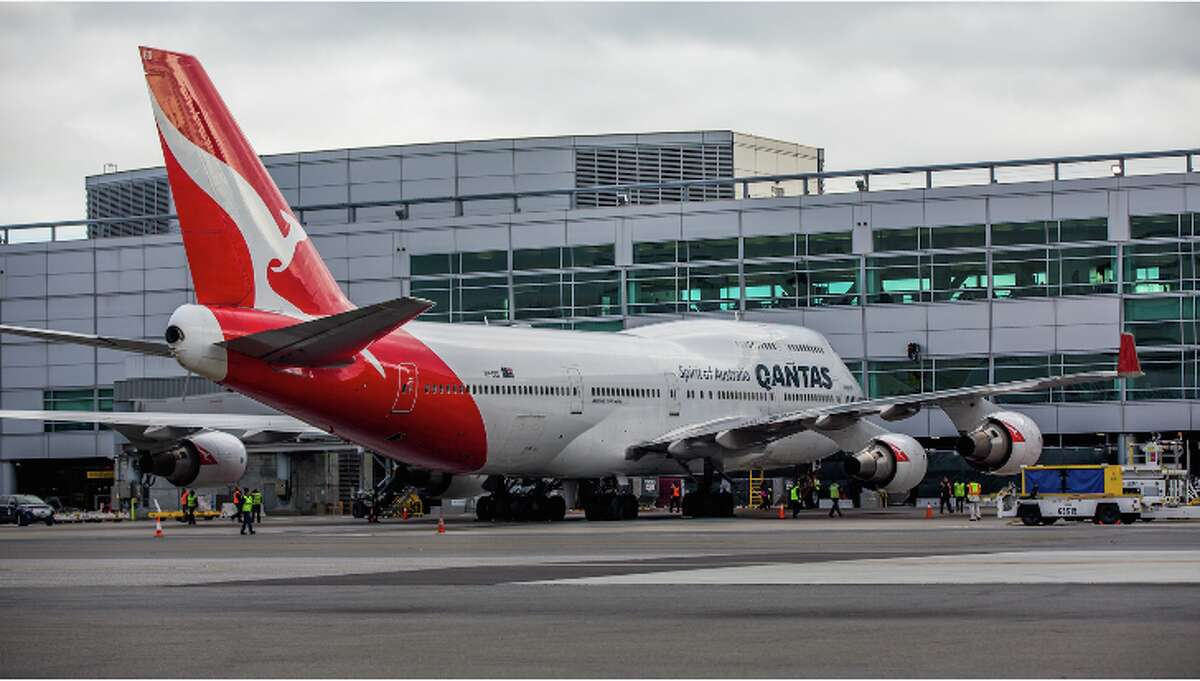 Qantas flies a 747 between SFO and Sydney, but it will use a new Boeing 787 Dreamliner on its new SFO-Melbourne flights