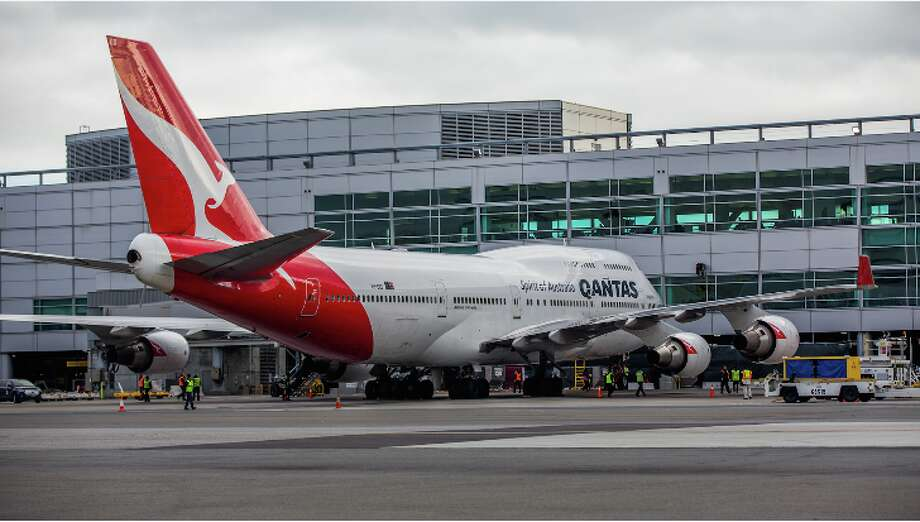 Qantas flies a 747 between SFO and Sydney, but it will use a new Boeing 787 Dreamliner on its new SFO-Melbourne flights Photo: Peter Biaggi