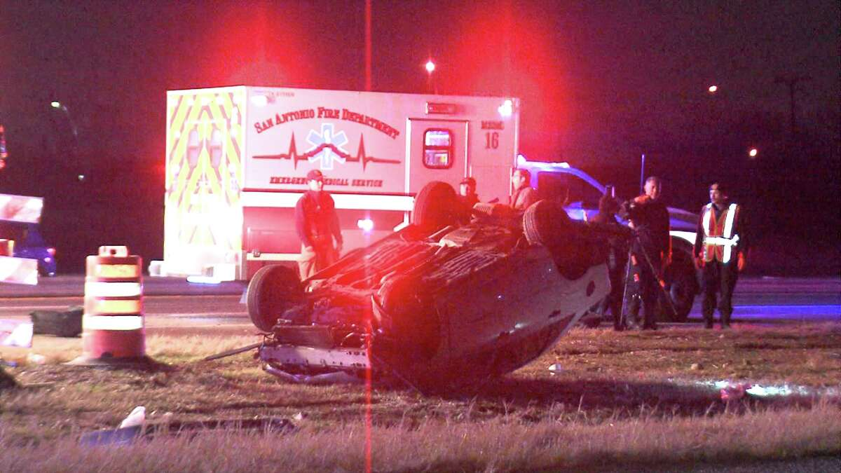 Police said the car was seen speeding and driving erratically prior to the crash around 2:40 a.m. on Highway 90 near Acme Road.