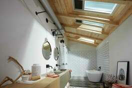 Bring in light and fresh air to your bathroom space.