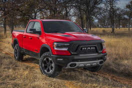 A big change with the 2019 Ram, which should arrive in the next month or two, is that the B- and C-pillars are moved an inch rearward, and the rear of the cab is pushed an additional two inches. Thus, the front and rear doors of Crew Cab models are an inch longer while the rear doors on Quad Cab models are an inch shorter.