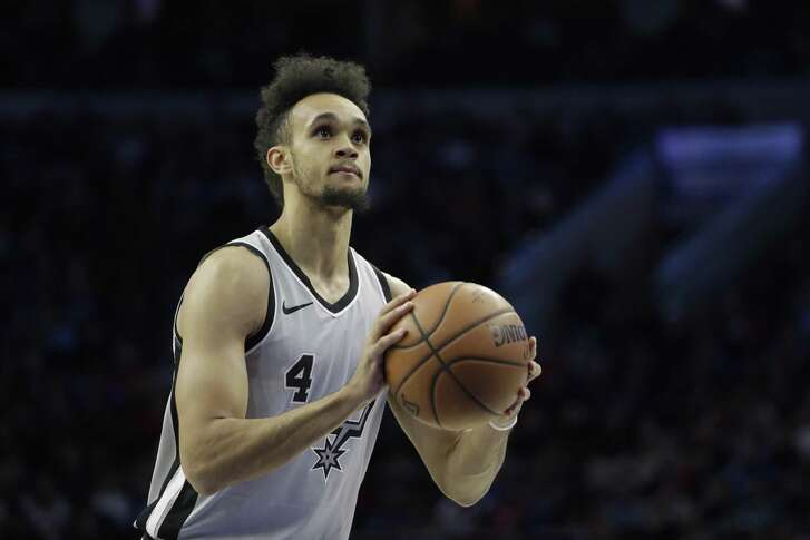 Derrick White has spent a lot of time this season with the Austin Spurs.