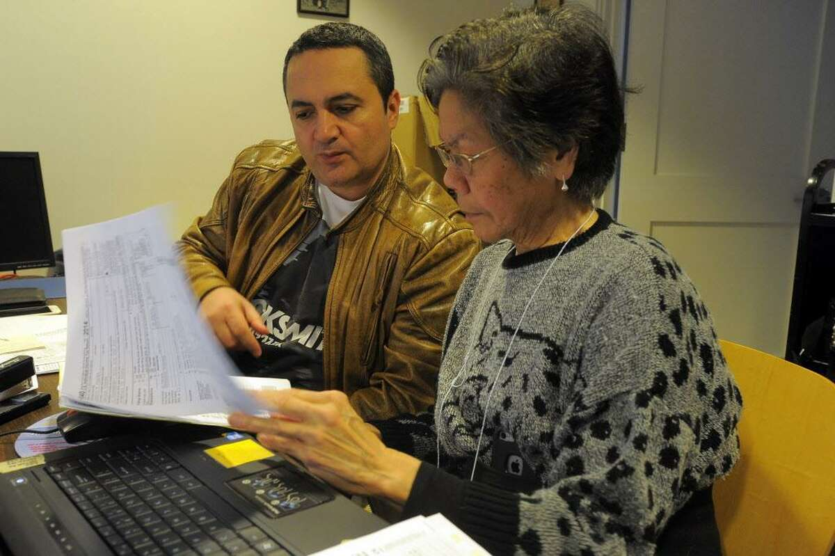 Free state and federal tax preparation help is often offered to low-income families.