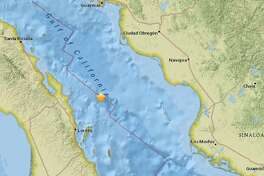 The USGS recorded this quake Friday in the Gulf of California.