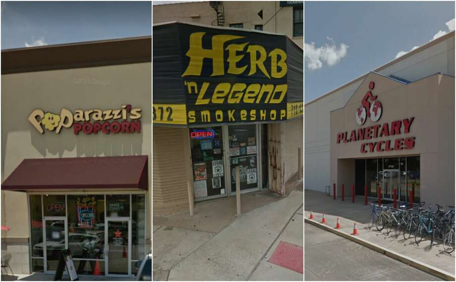 Scroll ahead to see Houston-area businesses with punny names. Photo: Google Street View