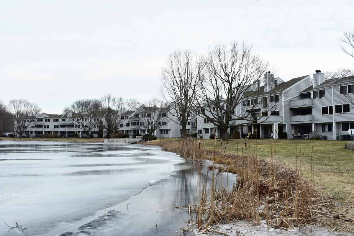 The Rowayton Woods condominiums in January 2018 in Norwalk, Conn. The complex was among the most active for 2017 sales in Norwalk, according to a Hearst Connecticut Media analysis of transfer records filed with the town clerk's office.